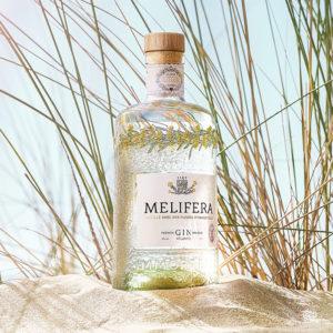 Melifera-gin-artisanal-francais-bio-bouteille-dune