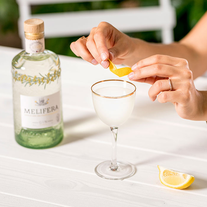 Melifera-gin-francais-bio-cocktail-white-lady