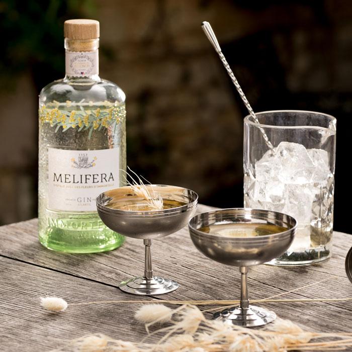 Melifera-gin-francais-bio-cocktail-dry-charente