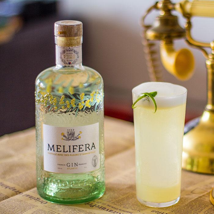 Melifera-gin-francais-bio-cocktail-gin-fizz