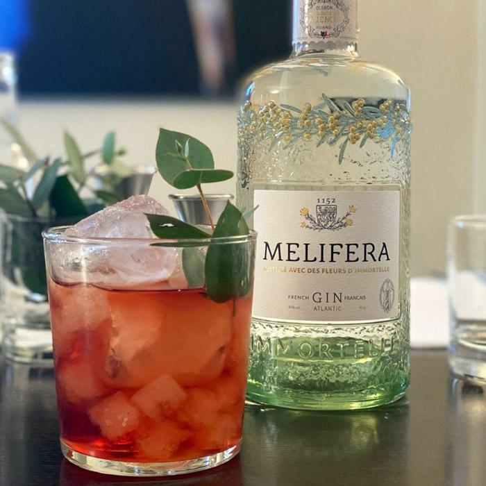 Melifera-gin-francais-bio-cocktail-negroni