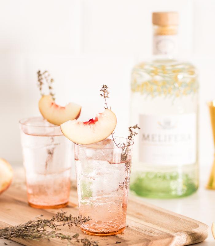 Melifera-gin-francais-bio-cocktail-gin-tonic-peche